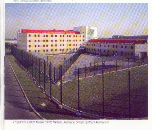 Nanterre - Etablissement Pénitentiaire - Maison d'Arrêt / Nanterre. Doc-439
