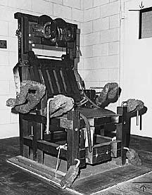 Ban public le portail d 39 information sur les prisons - Execution en direct chaise electrique ...